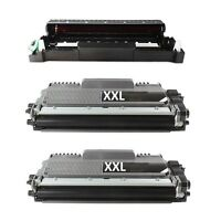 1x Drum + 2XL Toner kompatibel für Brother HL-L2365DW HL-L2380DW MFC-L 2700DN DW