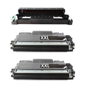 Trommel + 2 XL Toner kompatibel für Brother MFC-L 2730 DW MFC-L2732 DW -L2750DW