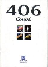 Peugeot 406 Coupe 2.0 3.0 V6 SE 1997-99 Original UK Sales Brochure No. M/CP 1071