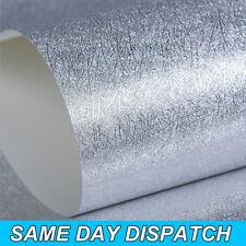 3d Silver Sparkle Glitter Effect Quanlity Feature Wallpaper TV Background Paper