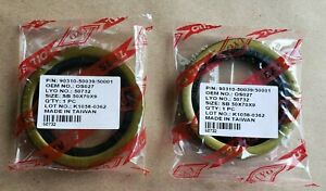 For Toyota 4Runner Tacoma Tundra T100 Pickup Rear Axle Oil Seal Set of 2