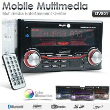 Double DIN Headunit Car Stereo Multi Color Non CD MP3 Player Built-in Bluetooth