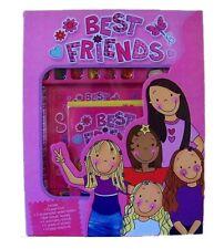 Best Friends Kit BFF Book, Secret Writers, Keyring, Threads, Stickers, Scrapbook
