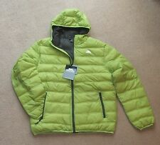 NEW TRESPASS IRRATE  GENTS PADDED  JACKET (LARGE) CITRON