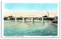 Early 1900s Main Street Bridge, Mankato, MN