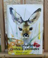 LES PLUS BEAUX CONTES D'ANIMAUX - JANUSZ GRABIANSKI - FLAMMARION 1964 - BON ÉTAT
