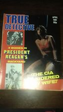 true detective magazine april 1981 good condition for age