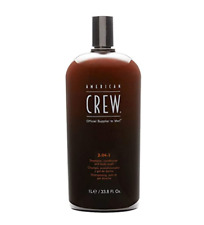 American Crew 3-in-1 Shampoo, Conditioner & Bodywash Tea Tree 33.8oz