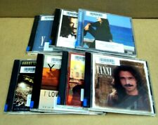 Lot/7 YANNI Music CDs ~ ACROPOLIS Tribute I LOVE YOU Love Songs MY TIME Passion+