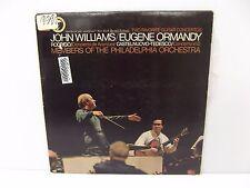 1965 John Williams Eugene Ormandy Two Favorite Guitar Concertos Vinyl LP ML-6234