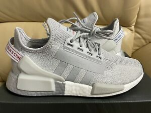 Adidas NMD R1.V2 J Youth Size 6 Fashion Boost Running Shoes Gray FW8049 (NEW)