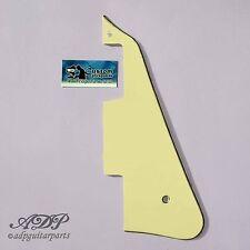 Plaque Pickguard pour guitare style Gibson Les Paul Cream 3ply Humbucker LP-506B