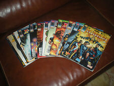 X-MEN REVOLUTION - LOT DE 11 TOMES - MARVEL COMICS 2001/2002 MENSUEL