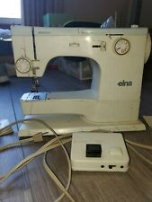 Elna SU 62C Tavaro Free Arm Sewing Machine with Original Foot Pedal - Tested