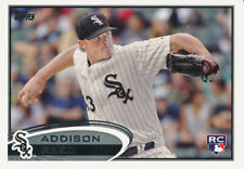 2012 Topps #183 Addison Reed Rookie Card RC Chicago White Sox
