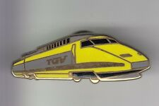 RARE PINS PIN'S .. TRAIN RAILWAYS LOCOMOTIVE SNCF TGV LA POSTE PTT OR 3D ~DI