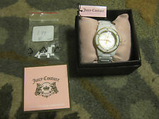 JUICY COUTURE RICH GIRL IPWPS WATCH WRISTWATCH ORIGINAL BOX, TAGS, MANUAL $195