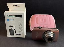 Canon PowerShot SD960 IS Digital ELPH 12.1MP w/ 4GB SD Battery Charger & Case