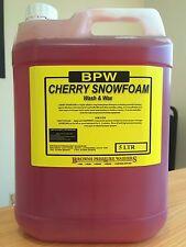 BPW Cherry Snow Foam With Wax ! 5L For Car Wash, Valeting -EXPRESS DEL-