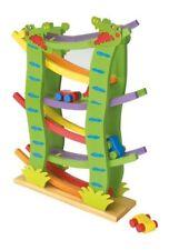 Treno/trenino coccodrilli con macchinine in legno gioco/giocattolo x bambini
