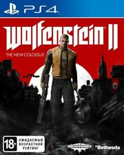 WOLFENSTEIN II: THE NEW COLOSSUS (PS4, 2017) Russian, English, Polish