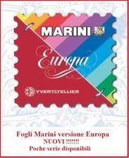 """Fogli Marini  Europa """" VATICANO 2017""""  - Nuovi"""