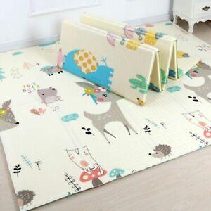 Cartoon Baby Play Mat Foldable XPE Puzzle Children's mat baby Climbing 180 160cm