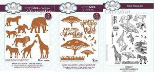Sue Wilson Craft Die - Safari Collection Dies / Stamps / Bundle - Oct 2018