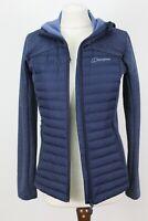 BERGHAUS HYDROLOFT Blue Jacket size UK 10