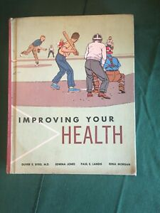 Improving Your Health Textbook © 1963 School Laidlaw Bros. acceptable condition