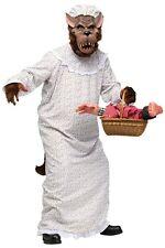 Lustiges Herren-Kostüm - Großer Böser Wolf Großmutter - Gr. M/L Rotkäppchens Oma