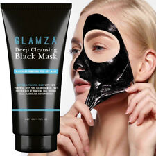 Glamza Deep Cleansing Black Charcoal Mask Blackhead Removing Peel - 50g