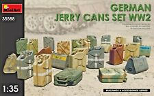 MINIART 35588 - 1/35 GERMAN JERRY CANS SET World War II Accessories for diorama