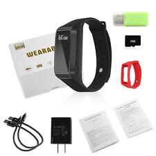 Smart Watch Spy Cam Hidden Lens Activity Tracker Full HD Video Pics Great Gift