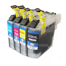 4PK LC203XL Compatible Ink Cartridges For Brother MFCJ4320DW MFC-J4420DW Printer