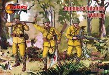 Mars 32015. Japanese Infantry WWII. Plastic 1/32 Scale Figures