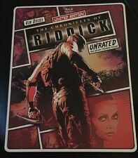 Chronicles of Riddick (Blu-ray/DVD + Steelbook Edition- No Digital Copies)
