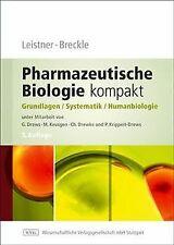 Pharmazeutische Biologie 1. Grundlagen und System... | Buch | Zustand akzeptabel