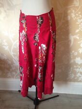 monsoon Panel skirt Uk 10