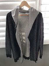 Barneys Striped Cardigan, Size Xs