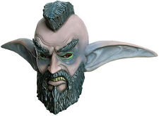 WORLD OF WARCRAFT MOHAWK GRENADE OVERHEAD LATEX MASK! ADULT COSTUME WOW NEW