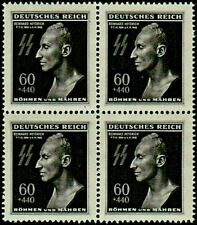 Bohemia & Moravia - Third Reich, Heydrich 4 block - MNH