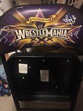 WWE WRESTLEMANIA XXX 30 CHAIR Signed Daniel Bryan Nikki Brie Bella WWF