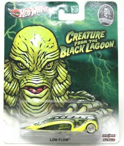 Hot Wheels LOW FLOW THE CREATURE FROM THE BLACK LAGOON / UNIVERSAL STUDIOS #D24