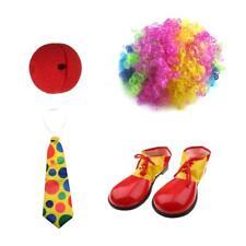 Ensemble Chaussure Clown+Nez Rouge+Cravate +Perruque pr Adulte