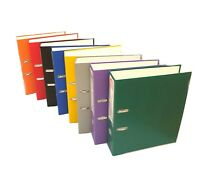 A4 Folder File Ring Binder Strong Lever Arch Document Stationary Cardboard Metal