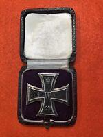 WW1 Original German iron cross first class