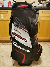 2019 Taylormade Deluxe Lightweight Waterproof Golf Cart Bag / MINT, 1 broken zip