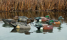 Avian-X Top Flight Pacific Flyway Pack six (6) Duck Floater Waterfowl Decoys New