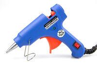 Small Mini Hot Melt Glue Gun Craft Electric 20w for Kids 7mm Sticks UK Plug